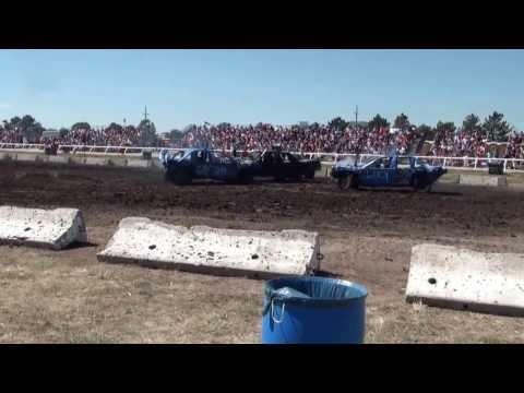 Nebraska State Fair Demolition Derby 2013 - Drew Fausett Car #51