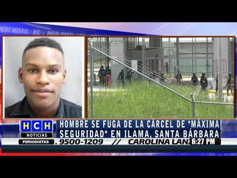 Se fuga un privado de libertad de cárcel de máxima seguridad en Ilama, Santa Bárbara