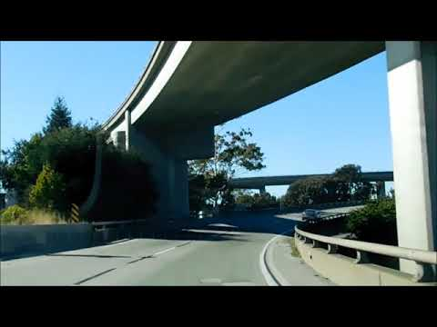 I-580 to California Highway 24 to Claremont Avenue in Oakland CA