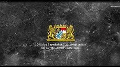 100 Jahre Bayerisches Staatsministerium für Familie, Arbeit und Soziales