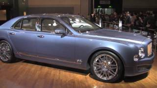 Bentley Mulsanne Executive Interior Concept 2011 Videos