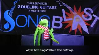 "Kermit the Frog sings ""Christmas Connection"""