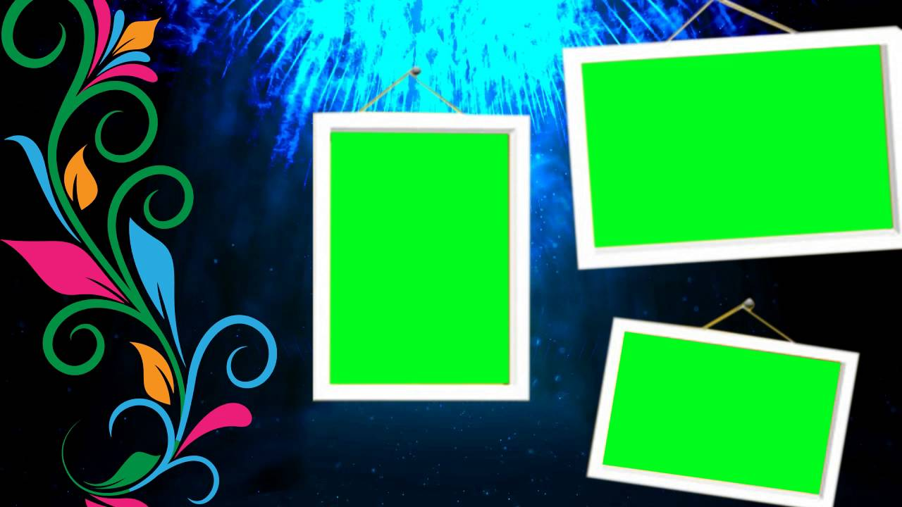 3 Green Mat Background Wedding Frames Videos - YouTube