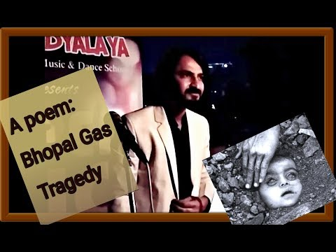 A poem- The Agony of Bhopal Gas Tragedy