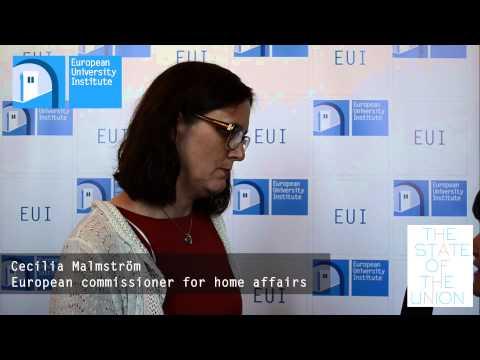 Cecilia Malmström - #SoU2013 Live Interviews