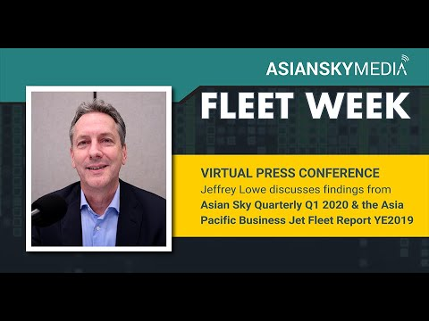 [VIRTUAL PRESS CONFERENCE - FLEET WEEK] Data on the Asia Pacific Business Jet Market