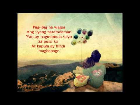 ngayo'y naririto by jay-r (lyrics on screen)