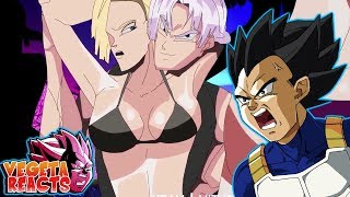 Vegeta Reacts To I am Trunks Briefs