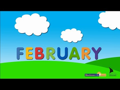 Blacktown City Libraries, Baby Rhyme Time online video - February