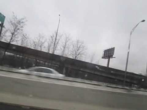 MD Interstate 83 south exits 6 to 5 streetlights