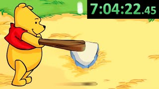 The Video Ends When I Beat Winnie the Pooh Homerun Derby