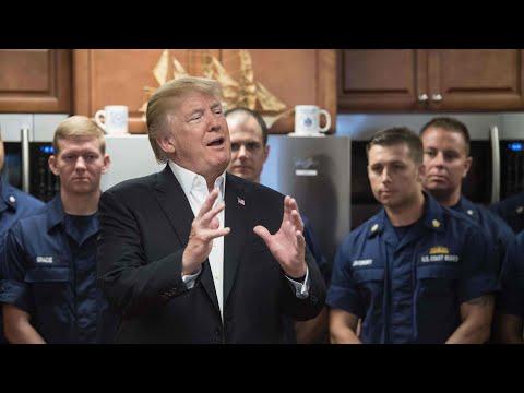 Donald Trump tells coast guard the