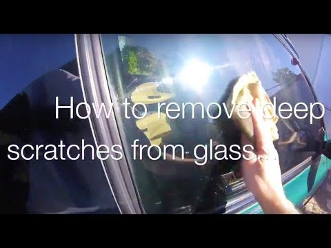removing-scratches-from-old-car-window-glass-|-subaru-bits-#3