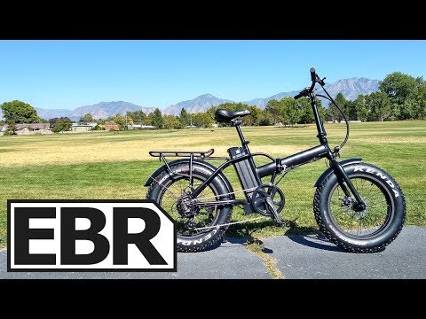 EUNORAU E-FAT-MN Review - $1.2k Folding Fat Electric Bike
