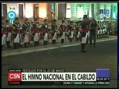 C5N - SEMANA DE MAYO: FESTEJOS EN EL OBELISCO (PARTE 2)