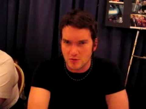Gareth David Lloyd singing