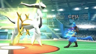 Super Smash Bros. Wii U - All Pokeball Pokemon