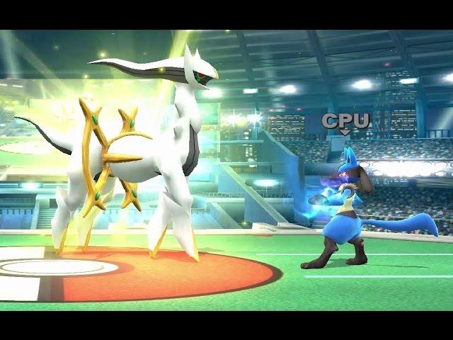 Super Smash Bros. Wii U - All Pokeball Pokemon
