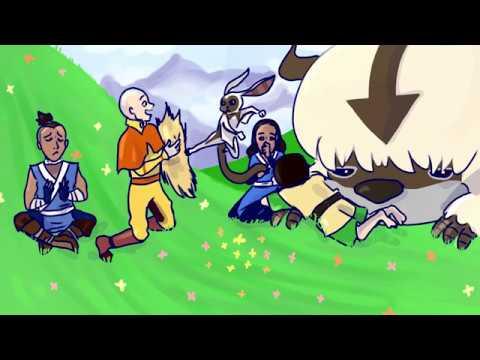 Momo The Last Lemurbender Speedpaint Youtube