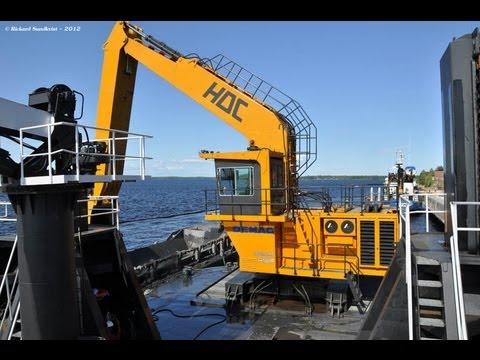 HDC AB - Demag H135S Mudderverk P10 - Dredging in Karlsborgshamn, Kalix