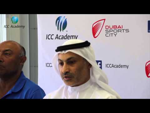 ICC Academy announce a working partnership with Emirates Cricket Board