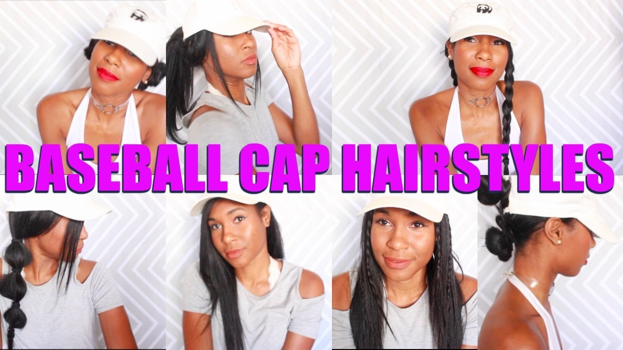 b25112f0245 8 BASEBALL CAP HAIRSTYLES That Are IN Right Now!