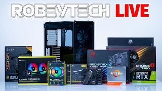 How To Build a PC - Giveaways + $2700 #RTX3000 Build in Corsair 570x  (3900XT / MSI RTX 3080)