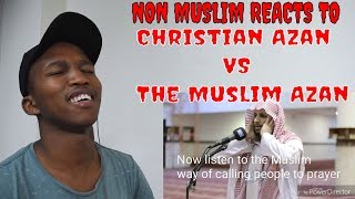 NON MUSLIM REACTS TO The Christian Azan VS The Muslim Azan Subscribe for more