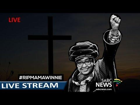 Memorial Service for Mama Winnie in Bizana, Eastern Cape