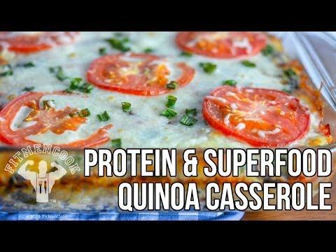 fitmencook-protein-&-superfood-breakfast-casserole-recipe-/-cacerola-de-proteína-y-súper-alimentos