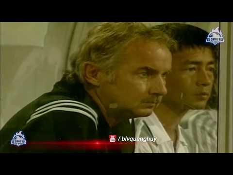Cup Agribank 2005 | U23 Việt Nam xuất sắc vượt qua U23 Thái Lan | BLV Quang Huy