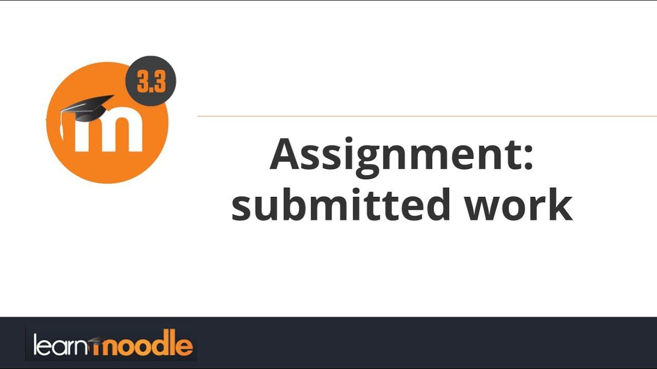 assignment work