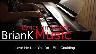 Piano Karaoke | Love Me Like You Do - Ellie Goulding | (Acoustic Cover)