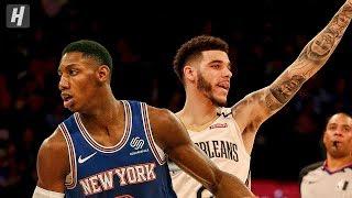 New Orleans Pelicans vs New York Knicks - Full  Highlights   January 10, 2020   2019-20 NBA Season