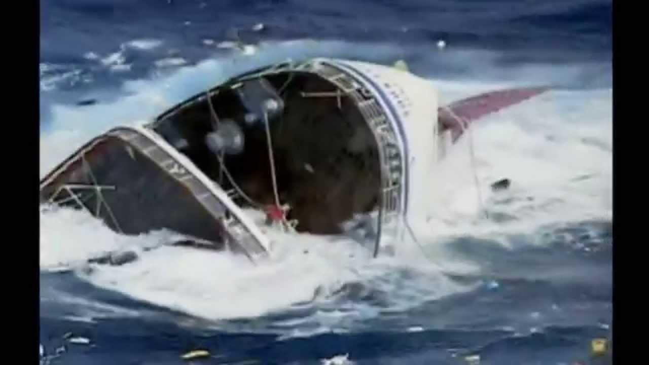 Cruise Oceanos sinking - YouTube  Cruise Oceanos ...