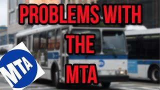 Problems with the MTA