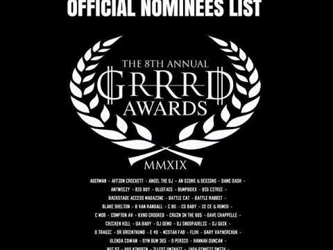 2019 Grrrd Awards Jeffrey Harris