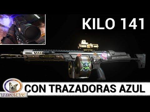 warzone-kilo-141-con-trazadoras-azules,-mejores-accesorios-de-mi-mejor-arma