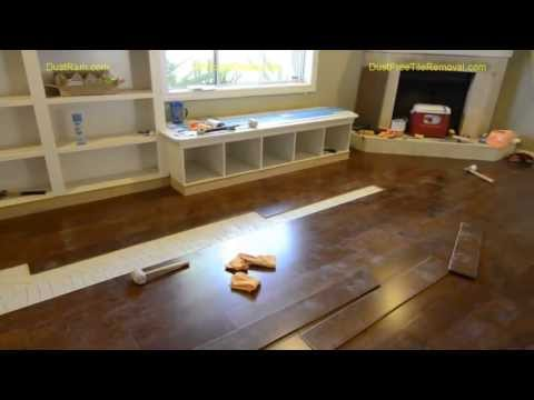 Watch Phoenix Hardwood Floor Installers - See Why Our DustRam System Offers The Best Value!