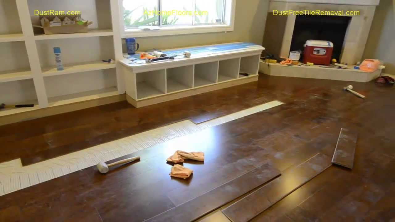 Watch Phoenix Hardwood Floor Installers See Why Our Dustram System Offers The Best Value
