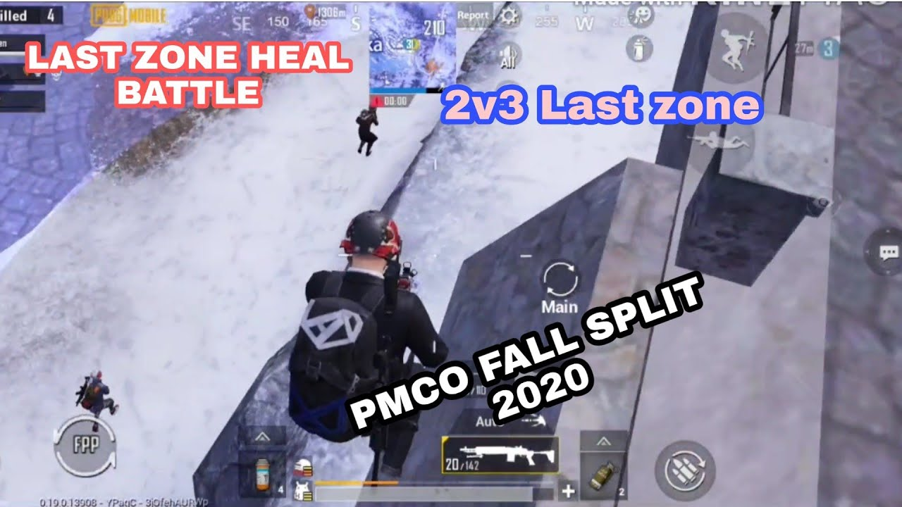 PMCO FallSplit 2020 in-game qualifiers LAST ZONE highlights || Forsaken Plays