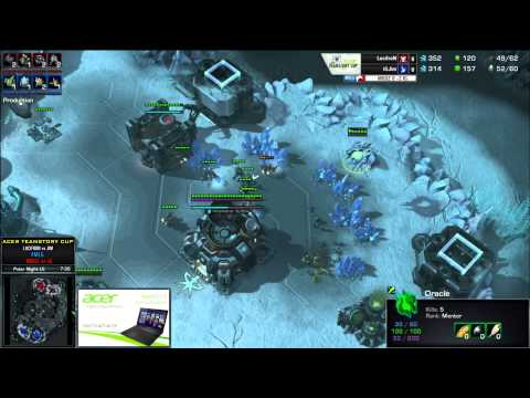 Lucifron (T) vs Jim (P) - Acer TeamStory Cup - Mouz vs Invictus Gaming - Game 3