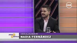 Nadia Fernández: Cierre de listas