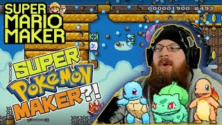 SUPER POKEMON MAKER?! - Super Mario Maker - Oshikorosu playing Katz Pokemon levels!