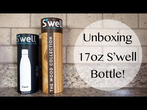 Unboxing: S'well Bottle 17 oz + My Current Stash!