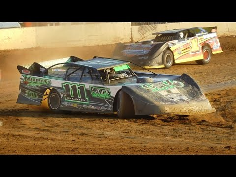Max Blair #111 | In-Car Camera | Little Valley Speedway | 6-10-16