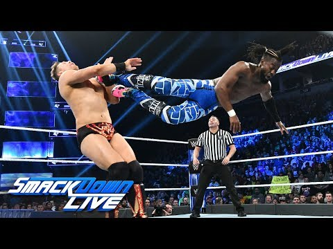 HINDI - Kofi Kingston vs. The Miz: SmackDown LIVE, 27 November, 2018