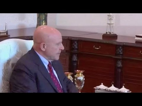 US national security adviser in surprise meeting with Pakistan PM