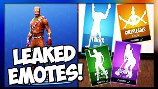 'LEAKED' NEW SEASON 4 BOOGIE DOWN EMOTES COMING SOON!!! (Fortnite Battle Royale)