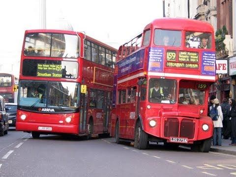 London public transport overview youtube - Image de bus anglais ...